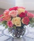 Bubble Bowl Rose Sorbet Elegance