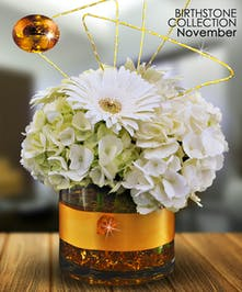 Citrine is the gemstone for November and was believed to have magical powers
