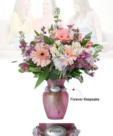 Vase of Life - Friends - Pink Vase  - Boesen The Florist