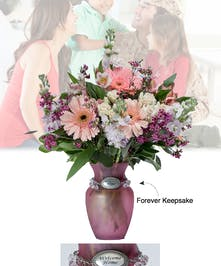 Vase of Life - Welcome Home - Pink Vase  - Boesen The Florist