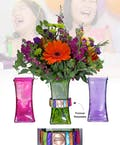Vase of Life - Happy Birthday - Multi Colored