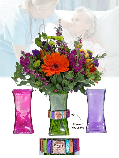 Vase of Life - Thinking of you - Multi Colored Vases