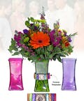 Vase of Life -  Forever Family - Multi Colored Vases