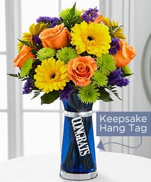 Congrats Bouquet is set to offer your congratulations wishes to your special recipient with bright blooming beauty!