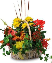Blooming Harvest Basket