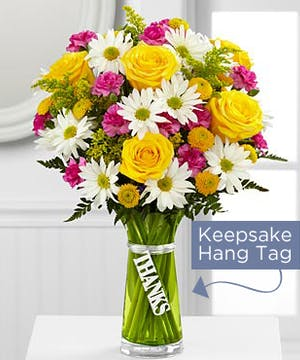 Thanks Bouquet is a simply gorgeous way to send your gratitude and thanks to friends, family and loved ones near and far