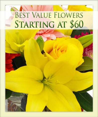 Get the best value in flowers from Boesen the Florist!