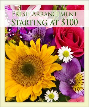 Give the freshest flowers with Boesen the Florist!
