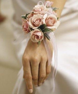 Elegant Roses with Ribbons