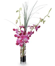 BLOOMING ORCHID BUD VASE- Boesen The Florist