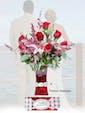 Deluxe - Red Vase