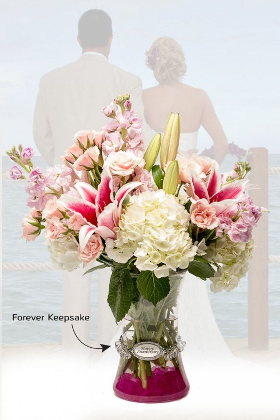 Vase Of Life Happy Anniversary Celebrate And Honor All Your