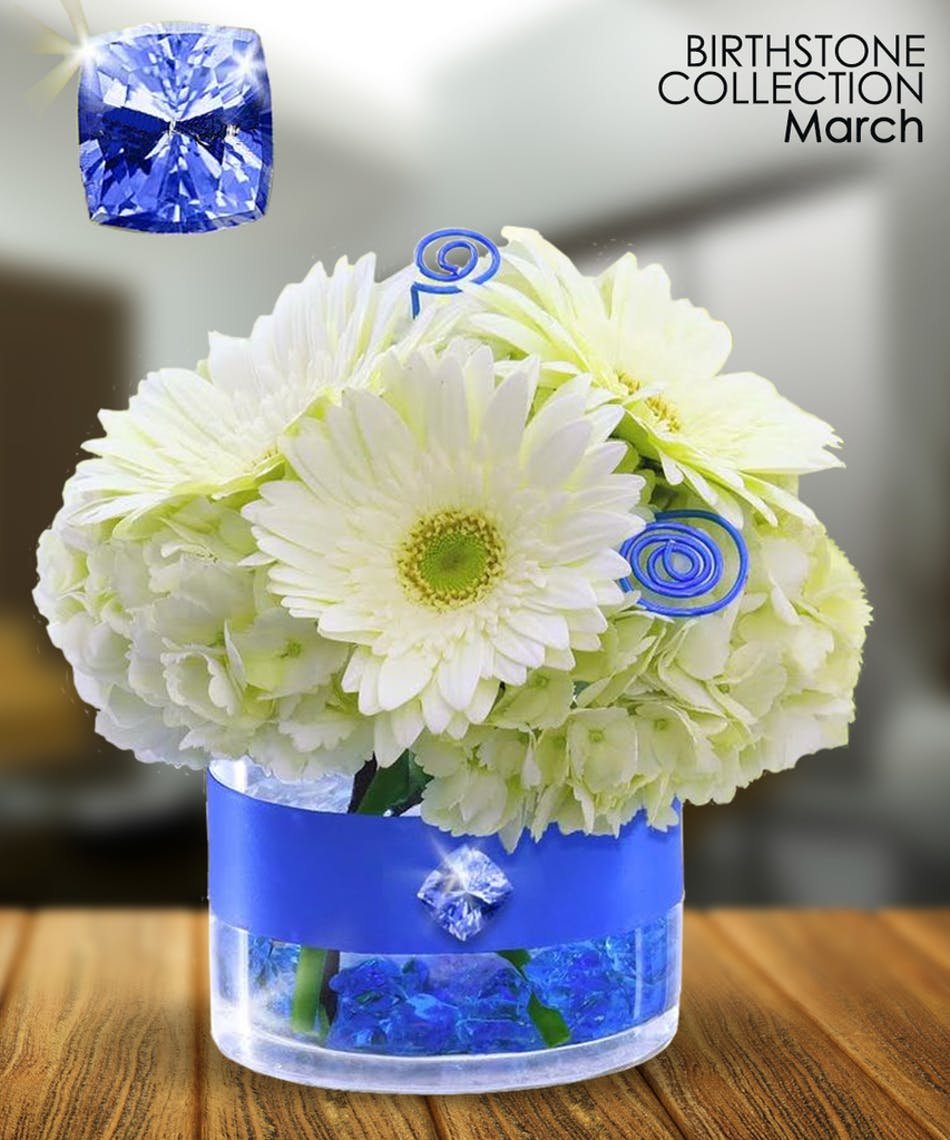 March birthstone collection aquamarine is the gemstone for march march birthstone collection aquamarine is the gemstone for march and what better way to celebrate the first month of spring boesen the florist izmirmasajfo