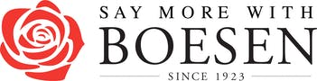 Logo for Boesen The Florist Des Moines